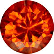 Cubic Zirconia, Orange