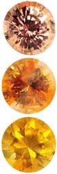 Safir, Orange